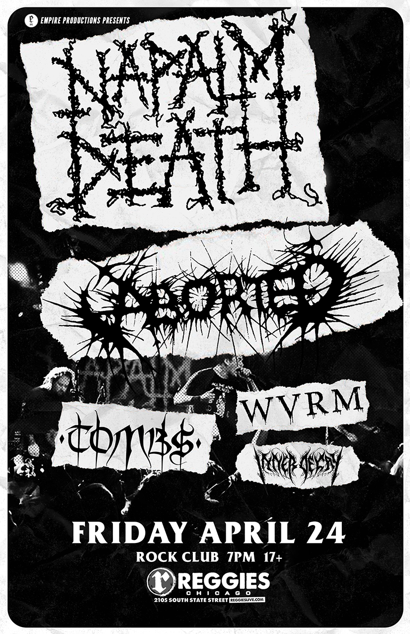 Apr 24 Napalm Death