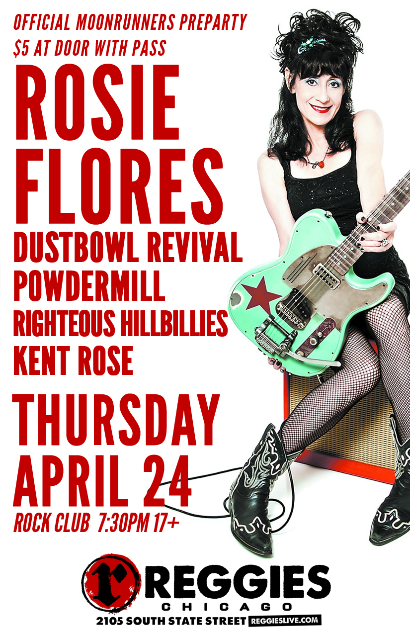 rosie flores and the dustbowl revival reggies chicago. Black Bedroom Furniture Sets. Home Design Ideas