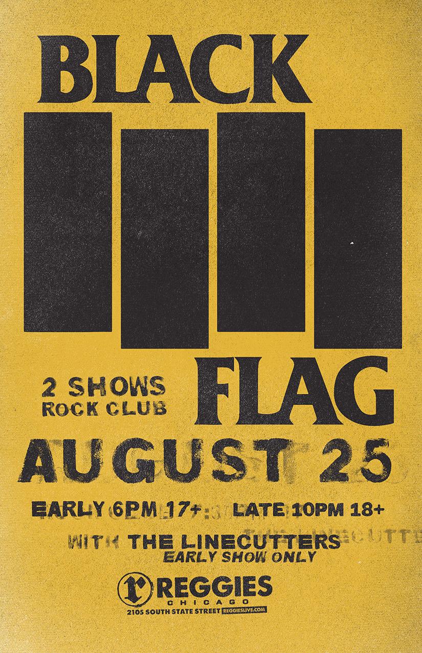 Black Flag - Reggies Chicago