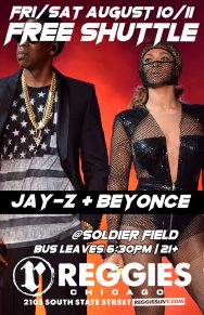 SHUTTLE TO JAY-Z + BEYONCE