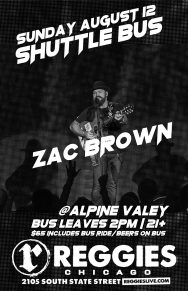 Canceled: Zac Brown Band at Alpine