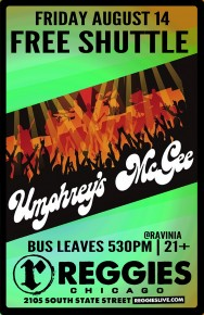 SHUTTLE BUS TO UMPHREY'S MCGEE