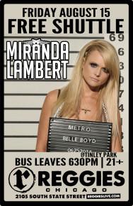 SHUTTLE TO MIRANDA LAMBERT