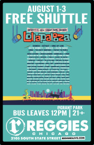 SHUTTLE TO LOLLAPALOOZA