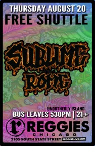 SHUTTLE TO SUBLIME