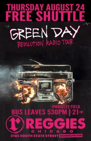 SHUTTLE TO GREEN DAY