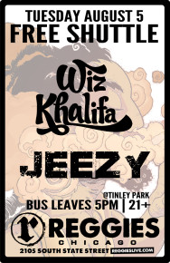 SHUTTLE TO WHIZ KALIFA, JEEZY