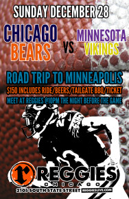 BEARS VS VIKINGS MINNESOTA ROAD TRIP