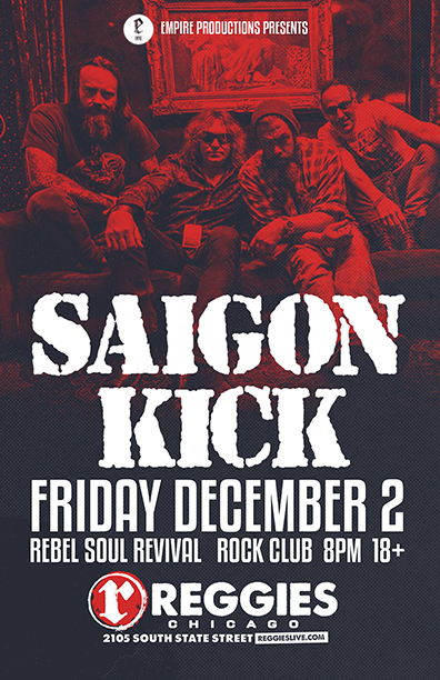 Saigon Kick - Reggies Chicago