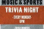 Music and Sports Trivia Night