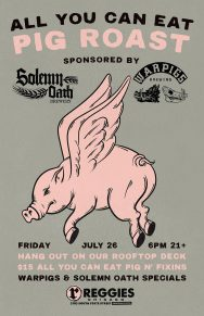 Solemn Oath + Warpigs Pig Roast