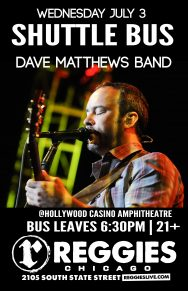 SHUTTLE TO DAVE MATTHEWS BAND