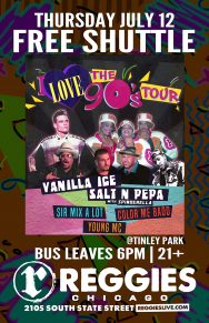 SHUTTLE TO I LOVE THE 90's