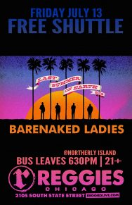 SHUTTLE TO BARENAKED LADIES