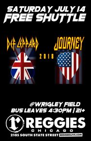 SHUTTLE TO DEF LEPPARD, JOURNEY
