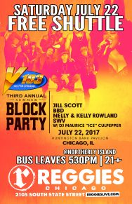 SHUTTLE TO V103 BLOCK PARTY