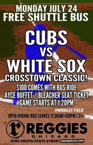 Cubs vs White Sox at Wrigley Ticket Package