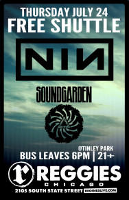 SHUTTLE TO NINE INCH NAILS, SOUNDGARDEN