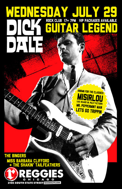 DICK DALE - Reggies Chicago