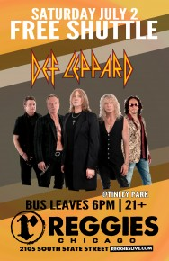 SHUTTLE TO DEF LEPPARD