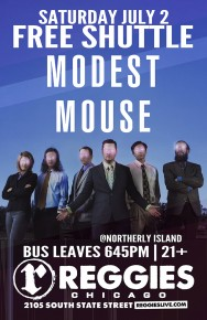 SHUTTLE TO MODEST MOUSE