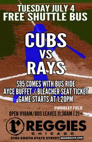 Cubs vs Rays at Wrigley Ticket Package