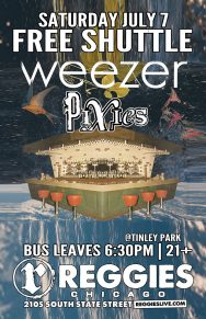 SHUTTLE TO WEEZER, PIXIES