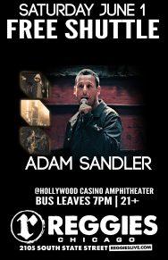 SHUTTLE TO ADAM SANDLER
