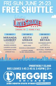 SHUTTLE TO COUNTRY LAKESHAKE