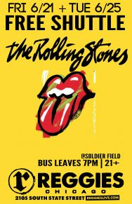 SHUTTLE TO THE ROLLING STONES
