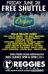 SHUTTLE TO WILLIE NELSON'S OUTLAW MUSIC FEST