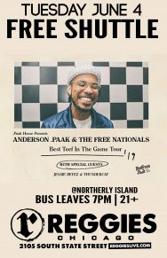 SHUTTLE TO ANDERSON .PAAK