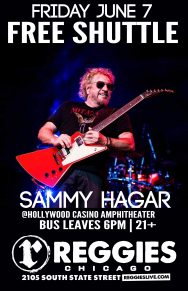 SHUTTLE TO SAMMY HAGAR
