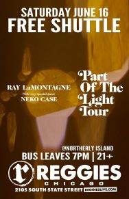 SHUTTLE TO RAY LAMONTAGNE