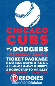 Cubs vs Dodgers at Wrigley Ticket Package