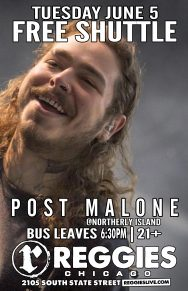 SHUTTLE TO POST MALONE