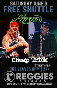 SHUTTLE TO POISON, CHEAP TRICK