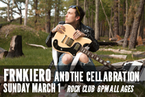 frnkiero andthe cellabration