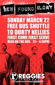SHUTTLE TO NEW FOUND GLORY