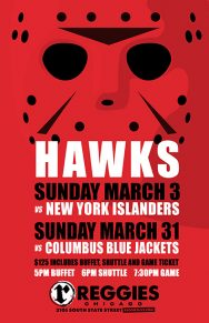 REGGIES BLACKHAWKS HOCKEY PACKAGE