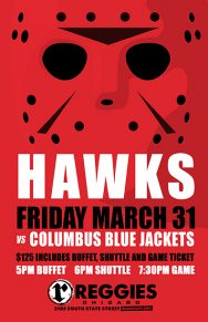 BLACKHAWKS VS COLUMBUS