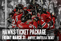 Blackhawks Ticket Package