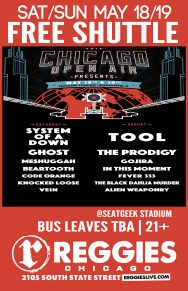 SHUTTLE TO CHICAGO OPEN AIR FESTIVAL