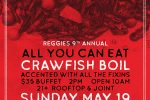 Reggies 9th Annual Crawfish Boil
