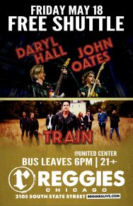 CANCELED: SHUTTLE TO HALL & OATES