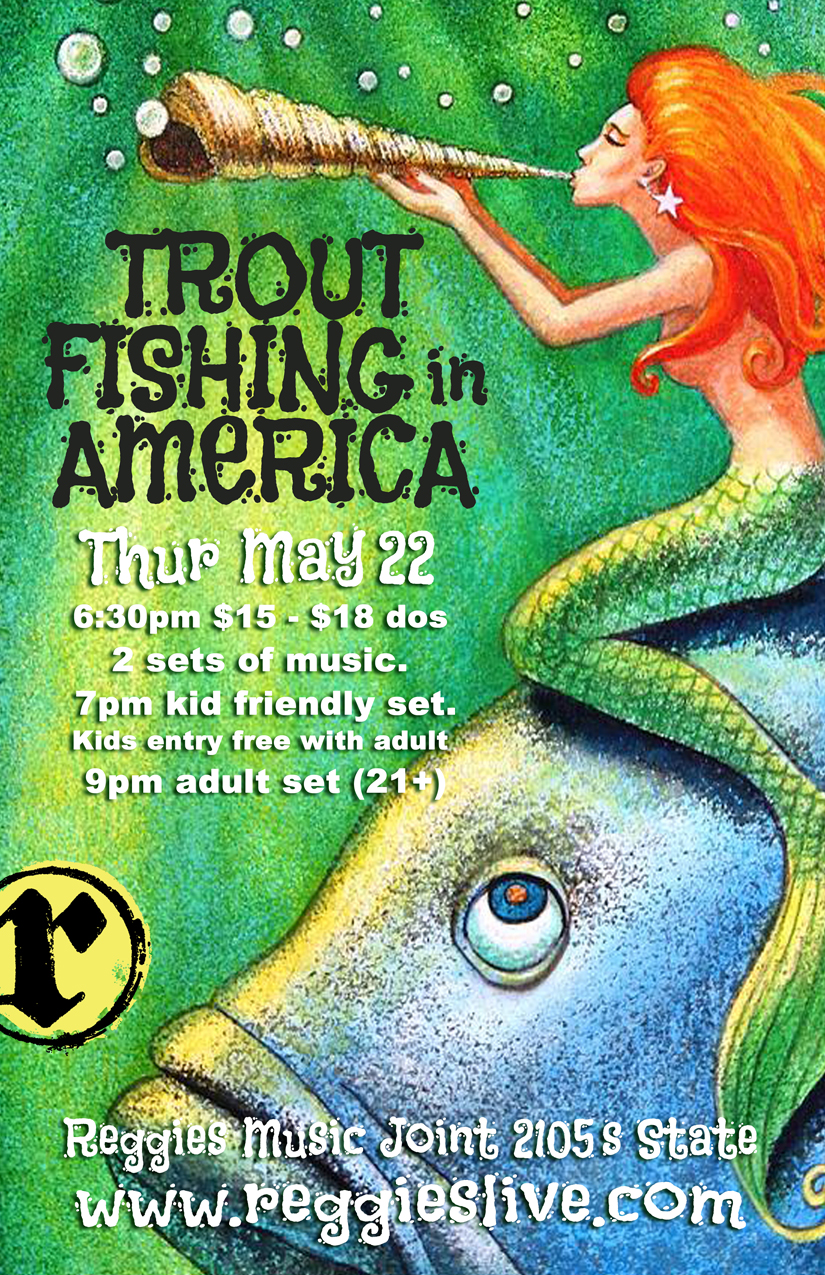 Trout fishing in america reggies chicago for Trout fishing in america