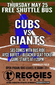 Cubs vs Giants at Wrigley Ticket Package