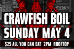 Crawfish Boil On The Roof