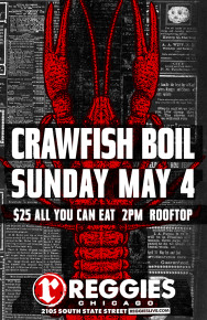 Reggies 4th Annual Crawfish Boil