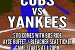 Reggies Cubs vs Yankees Package